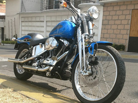 Harley Davidson Softail Springer 2004 Azul