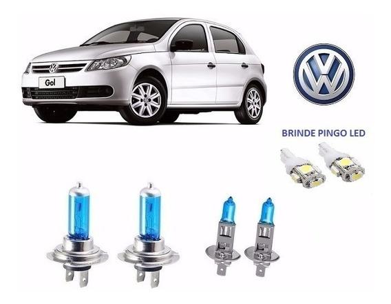 Lâmpadas Automotiva H1 H7 55 Watts Super Branca Efeito Xenon