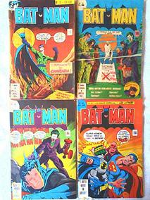 Batman Formatinho Quatro Edições 27, 28, 29, 30 (1978) Ebal