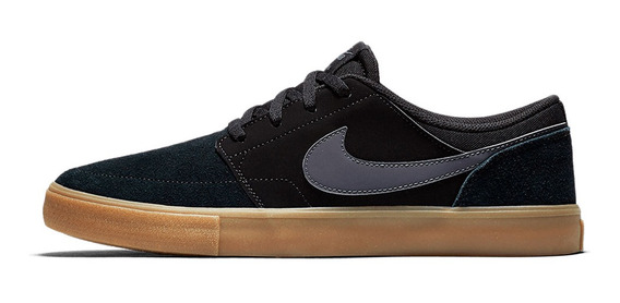 Tênis Nike Sb Portmore Ii Solar Black / Gum