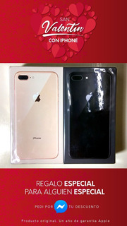 Nuevo iPhone 8 Plus 128gb 3gb Ram Pantalla Resistente