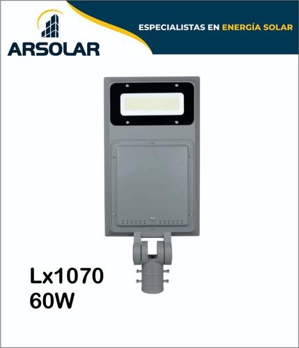 Imagen 1 de 1 de Luminaria Led Solares Sin Sensor De Movimiento 60w