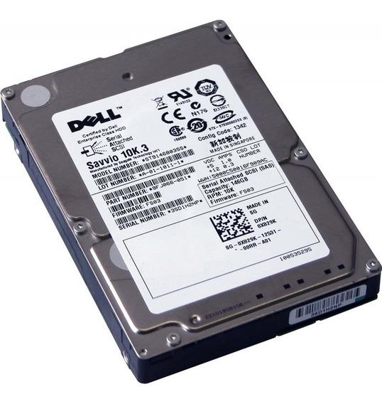 0x829k X829k Dell Hd Sas 146gb 10k 2.5 Polegadas