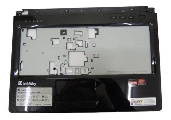 Carcaça Touchpad Para Notebook Itautec A7520 Semi Nova