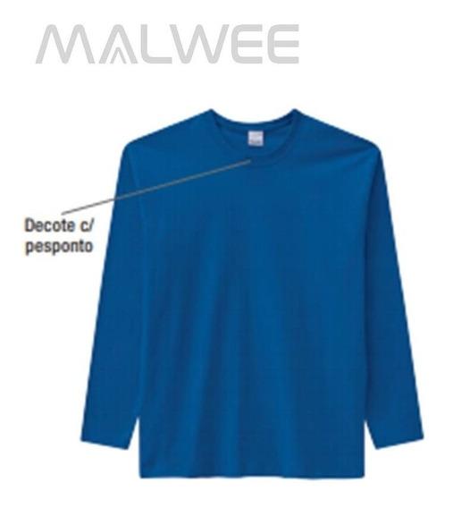 Camiseta Malwee Manga Longa Tradicional