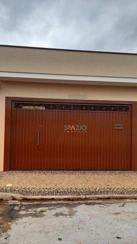 Imagem 1 de 24 de Casa Com 3 Dormitórios À Venda, 120 M² Por R$ 530.000,00 - Bela Vista - Rio Claro/sp - Ca0482