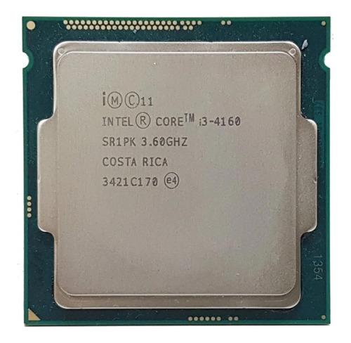 Imagem 1 de 2 de Processador Gamer Intel Core I3-4160 E 3.60ghz