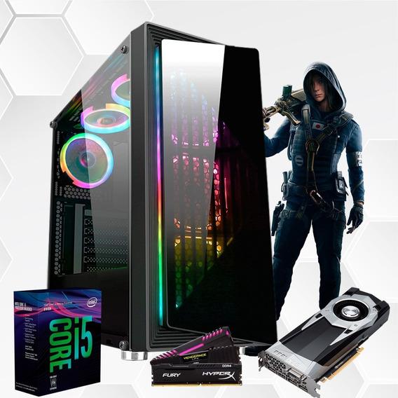Pc Gamer I5 8400 Tuf B360m Gtx2060 6gb Mem 8gb Ssd240