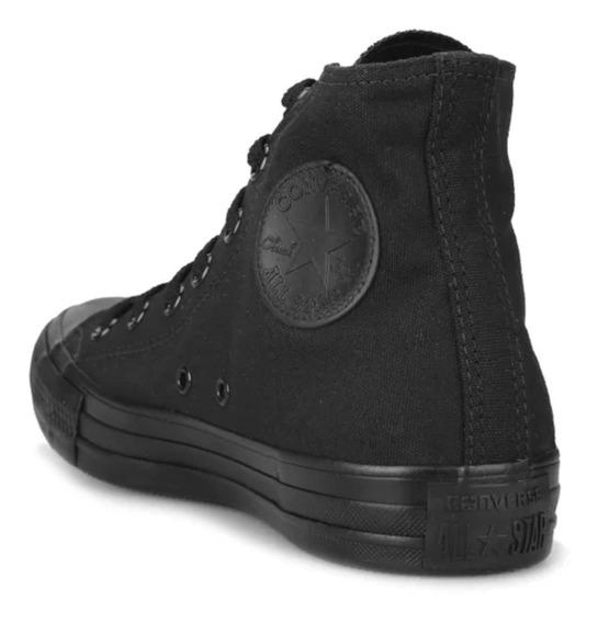 Zapatillas Converse Chuck Taylor Monochrome Hi Black