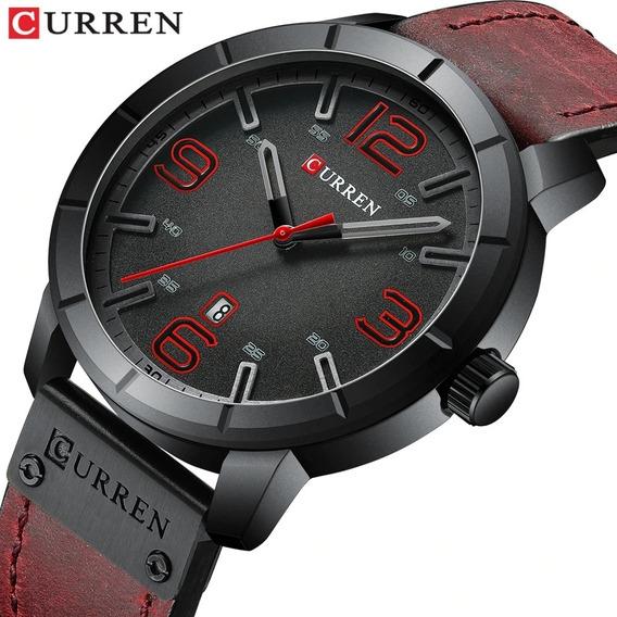Reloj Hombre Curren 8327 Casual Vintage De Piel