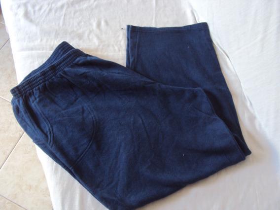 Calça De Moletom Azul Adê Unissex Tamanho G3