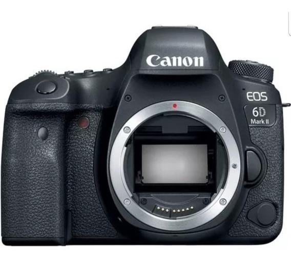 Câmera Canon 6d Mark Ii + Garantia 10 Meses Com Nota Fiscal