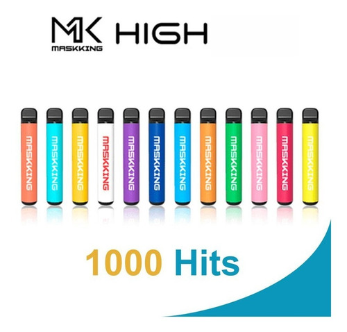 Imagen 1 de 5 de Mk Maskking High Pro 10 Piezas 1000 Hits + Envió Gratis!!!