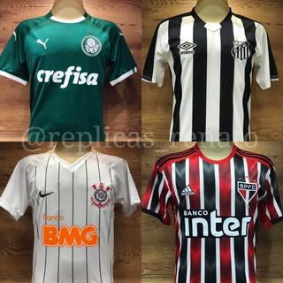 Camisetas De Times Brasileiros E Internacionais