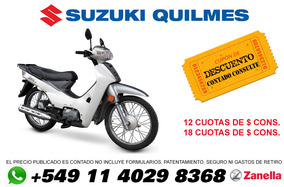 Zanella Due 110 0km Financio 100% Zb Smash Wave Crypton