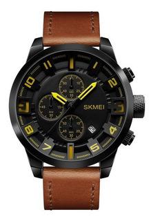 Reloj Hombre Skmei 1309 Moderno Elegate Fecha Cronografos