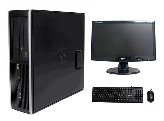 Computador Hp Elite 8200 I5 4gb 500gb Monitor 19 Polegadas