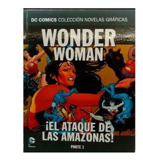 Dc Comic Novelas Graficas Nº 90 Wonder Woman El Ataque