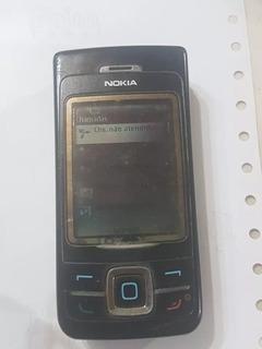 Celular Nokia 6265 Tipo Rm66 Não Funciona O Teclado Mas Liga
