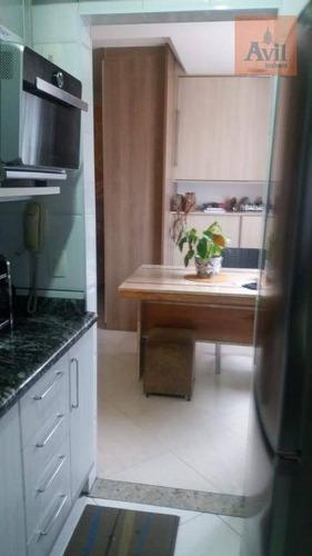 Studio Com 1 Dormitório À Venda, 37 M² Por R$ 379.000,00 - Tatuapé - São Paulo/sp - St0046