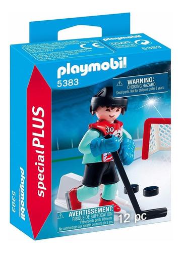 Playmobil Jugador De Hockey 5383 Special Plus Fig Educando