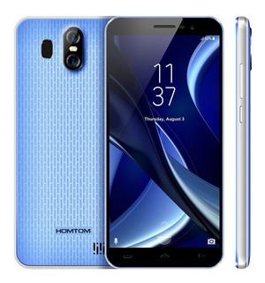 Homtom S16 3g Telefonía Android 7.0 2gb Ram 16gb Rom - Azul