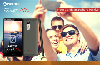 Celular Positivo Twist Xl S555 Dual Chip 16g Tela 5.5 Anatel