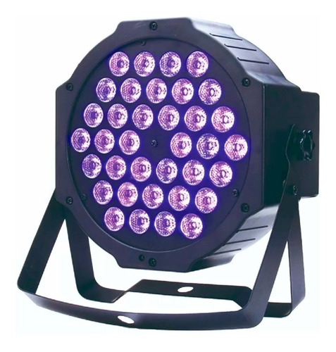 Tacho Proton Luz Negra Uv 36 Led Audioritmico Fluo Dmx