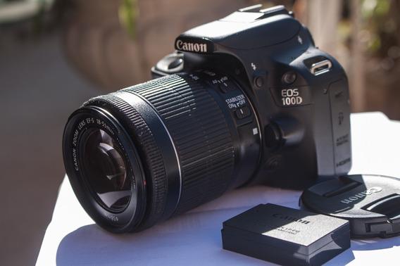 Camera Canon Sl1 100d Com Lente 18 55mm