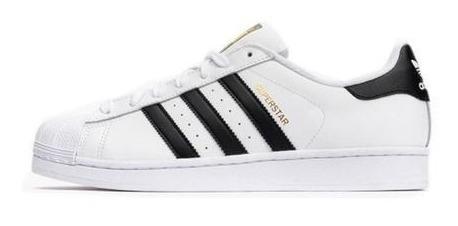 Tênis adidas Superstar Foundation Brancopreto