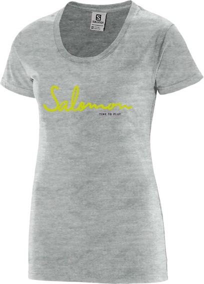 Remera Mujer - Salomon - Time To Play Ss Tee - Casual