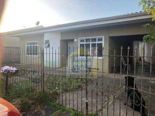 Casa Com 2 Dormitórios À Venda, 365 M² Por R$ 350.000,00 - Fazendinha - Curitiba/pr - Ca0393