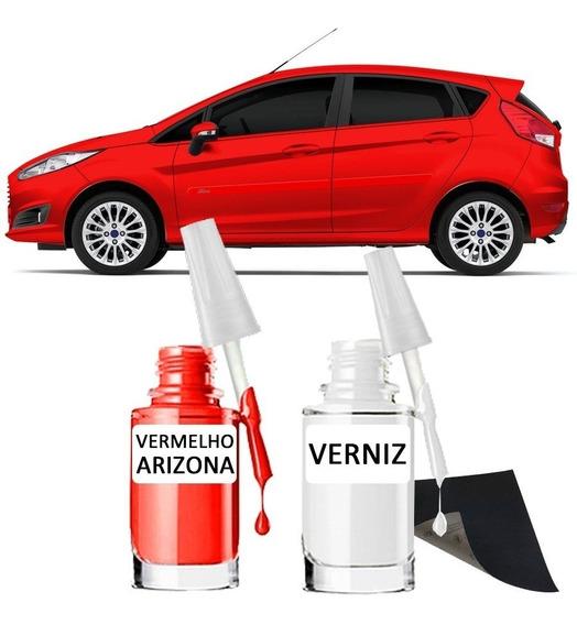 Tinta Tira Risco Automotiva Ford Vermelho Arizona 15ml