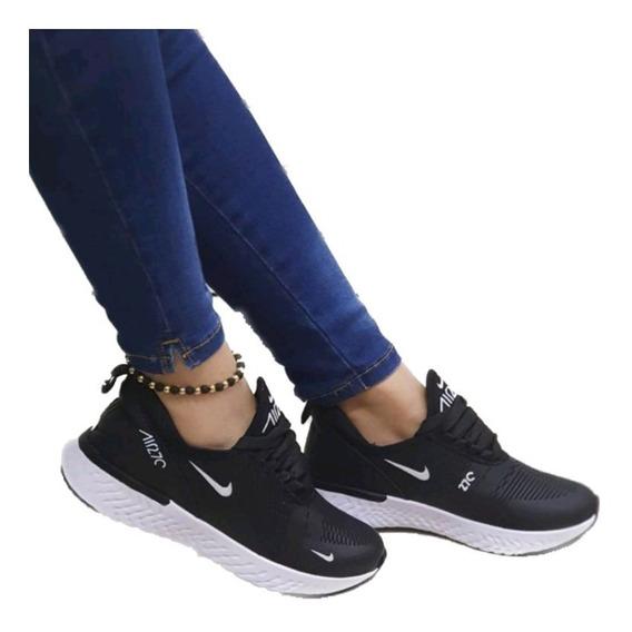 zapatos nike negros mujer