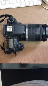Kit Canon 70d + Lente Superzoom 18-200mm Pouquíssimo Uso
