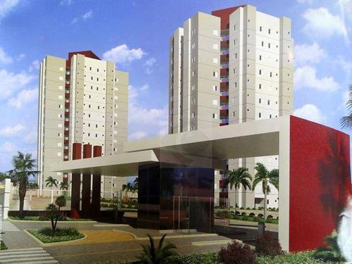 Imagem 1 de 30 de Apartamento Com 3 Dormitórios À Venda, 62 M² Por R$ 335.000,00 - Jardim Bela Vista - Indaiatuba/sp - Ap0747
