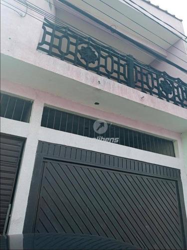 Imagem 1 de 14 de Sobrado Com 2 Dormitórios Para Alugar, 125 M² Por R$ 1.300,00/mês - Jardim Mauá - Mauá/sp - So0140
