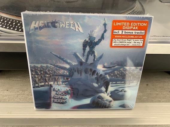 Helloween - My God-given Right - Cd Digipack Tapa 3d