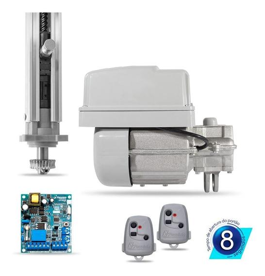 Kit Motor Portão Eletrônico Basculante 1/4 Rápido Peccinin