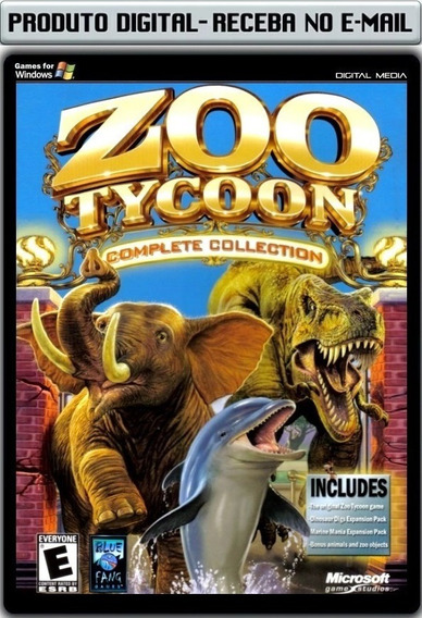 Zoo Tycoon Complete Collection - Pc - Envio Digital