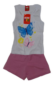 Roupa Infantil Menina Kit Com 8 Conjunto Infantil Feminino