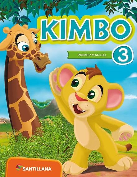 Kimbo 3 - Primer Manual - Áreas Integradas - Santillana
