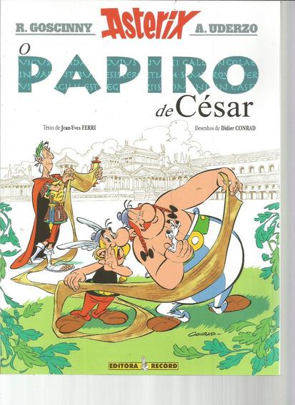 Asterix 36 O Papiro De Cesar Record - Bonellihq Cx341 F18