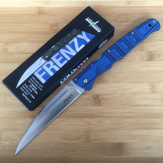 Canivete Cold Steel Frenzy Ii Azul Aço Cpm S35vn
