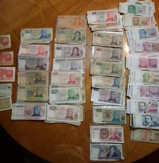 Lote 230 Billetes Argentinos Antiguos