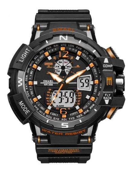 Relógio Smael Militar 1376 Esportivo A Prova D