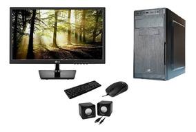 Computador Intel Core I3+ Monitor De 18,5 +multimídia E Dvd