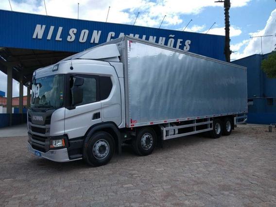 Scania P 320, 2019, 8x2 (bitruck) Nilson Caminhões 6499