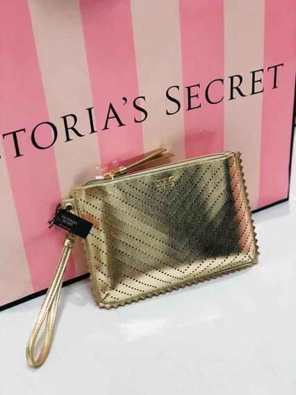 Sobre De Victorias Secret Original Dorado