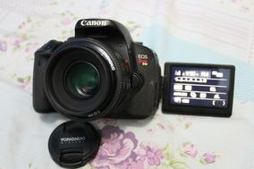 Canon T3i Ou T4i 650d + Lente 50mm 1.8